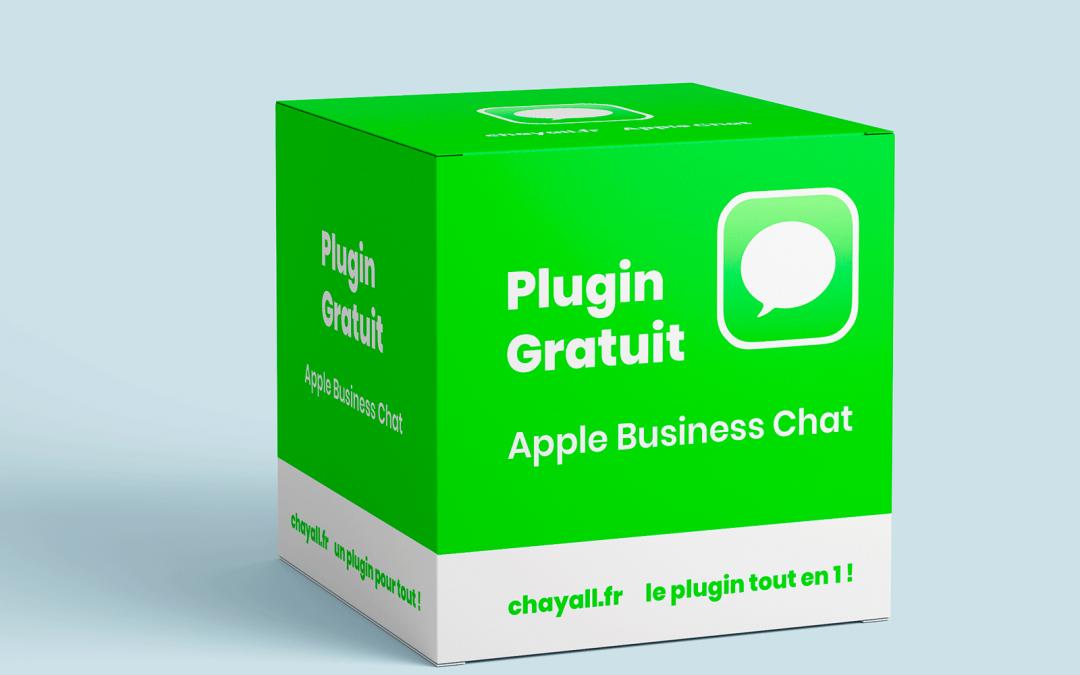 plugin gratuit apple business chat