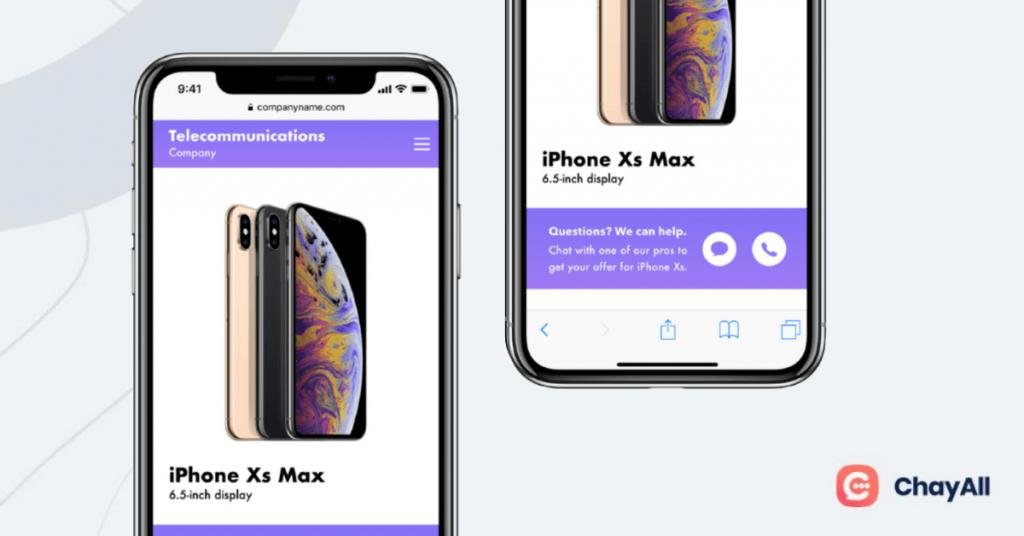 application de messagerie instantanée chat : apple business chat pour des services sous ios et non windows et android