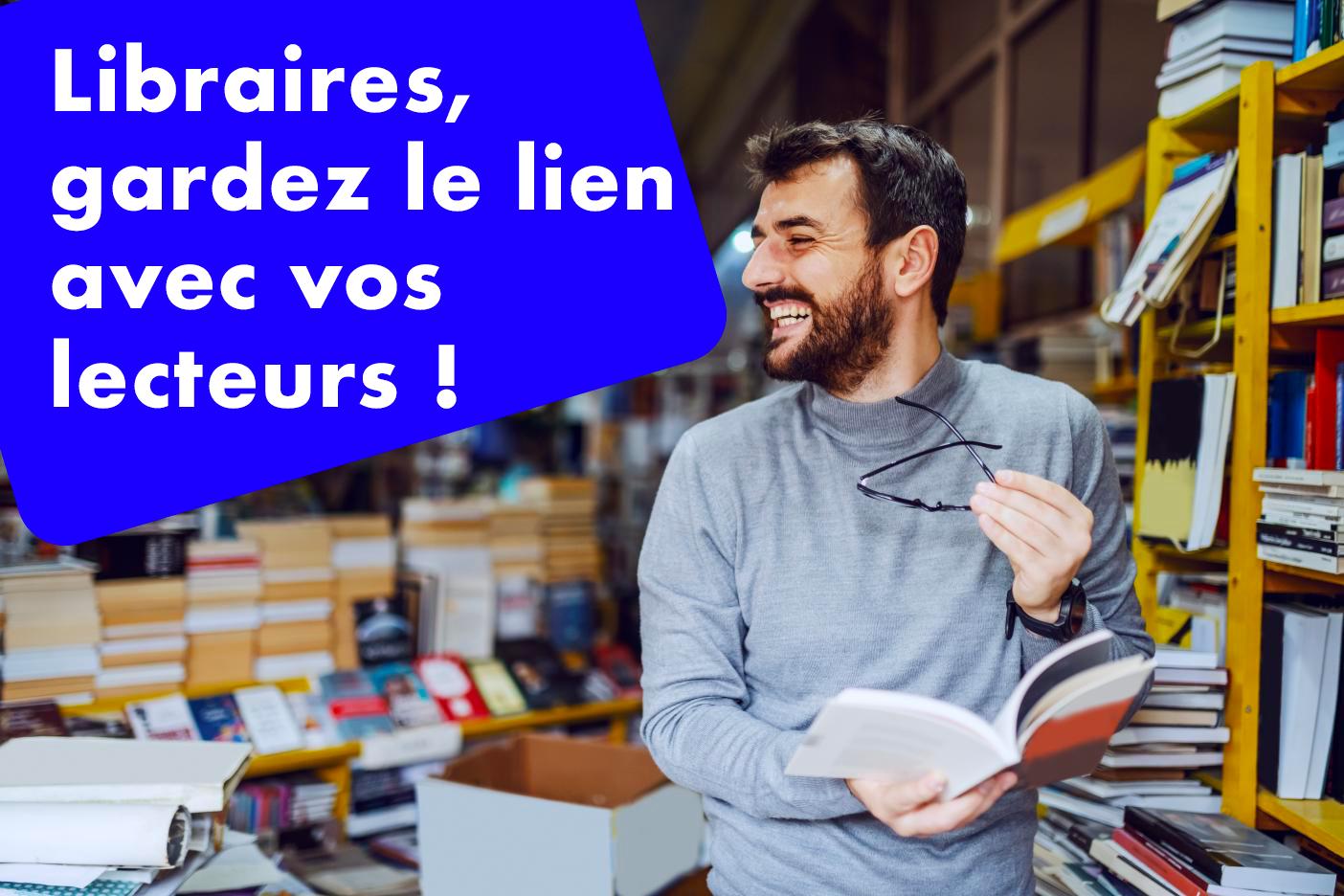 ChayAll permet aux libraires de garder le lien avec leurs lecteurs