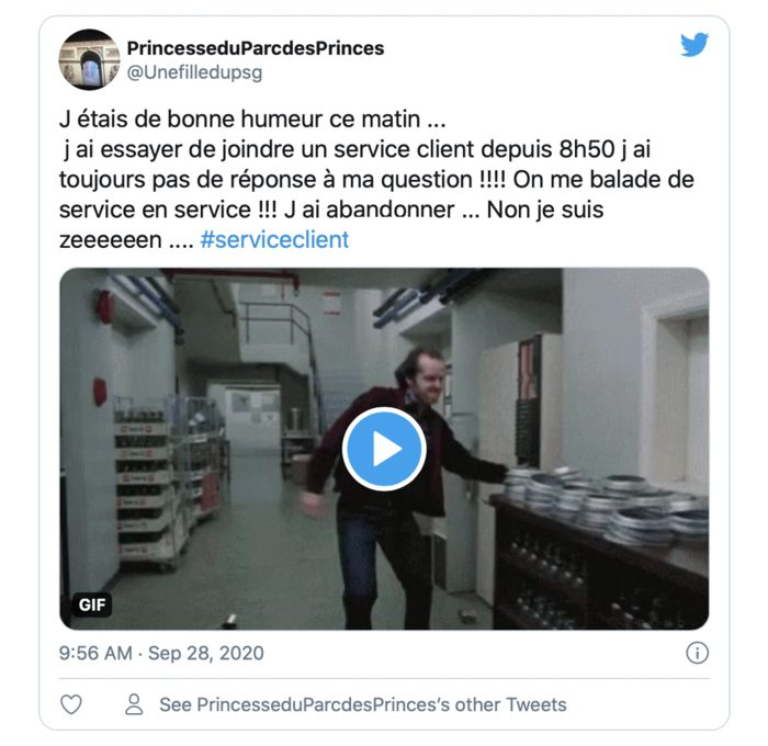 Tweet service client