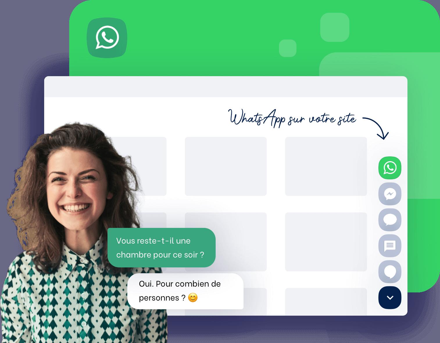 Comment installer WhatsApp Business et la coupler avec d'autres messageries ?